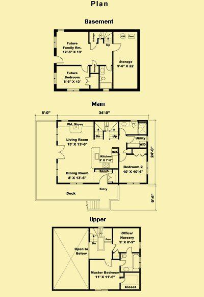 small house floor plans with basement small cottage house plans with basement archives