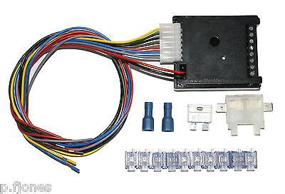 universal 12n 12s towbar electrics wiring 7 way bypass relay kit ebay