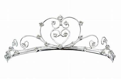Crown Princess Clipart Tiara Coloring Pages Clip