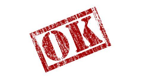 Ok Rubber Stamp · Free Image On Pixabay