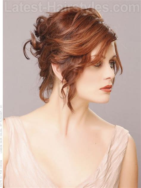 50 gorgeous short updo hairstyles short hairstyles