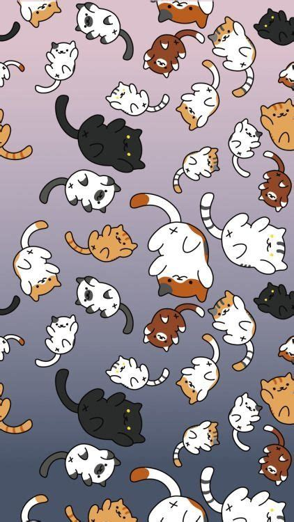 Animated Cat Wallpaper - animated cat iphone wallpaper iphonewallpapers neko