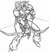 Archer Coloring Pages Faucon Coloriage Dessin Oeil Dessiner Avengers Imprimer Printable Colorier sketch template