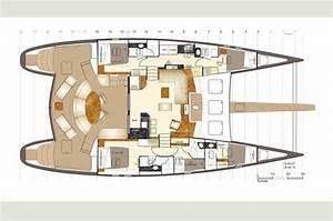 Yacht De Luxe Interieur : l 39 int rieur du bateau un yacht de luxe moderne pour naviguer en famille sur l 39 internaute mer ~ Dallasstarsshop.com Idées de Décoration