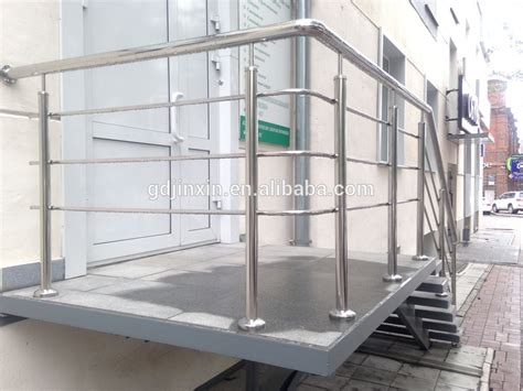 Stainless Steel Outdoor Railing Design Balcony Fence With
