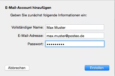 si鑒e apple hilfe wie richte ich posteo in mail apple mac os x