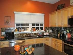 orange kitchens ideas burnt orange kitchen home ideas glasses