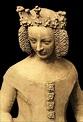 Isabeau de Bavière vers 1400 statue du palais de justice ...