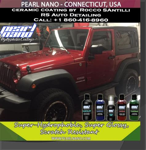 Boat Rs Near Me by Jeep Wrangler Coated With Pearl Nano Coating By Rs Auto