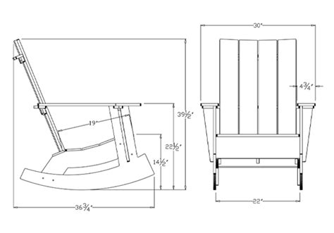 adirondack rocker smart furniture