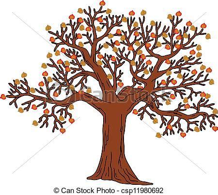clipart autunno autunno parte albero illustration albero foglie