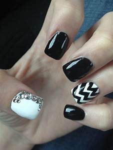 Images Of Nails Designs Tumblr Black And White Golfclub