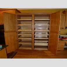 Cabinet & Shelving  Large Pantry Storage Cabinet
