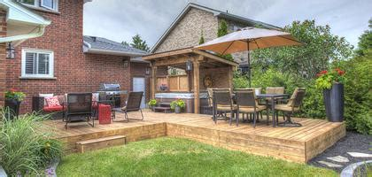 Tiki Hut Brantford by Oasis At Home Brantford Deck And Fence Builder