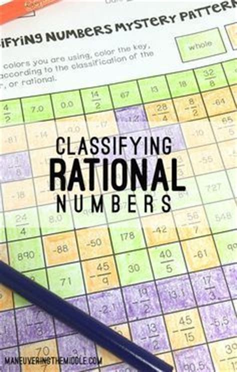student crayons  rational numbers  pinterest