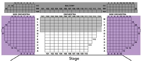 Laguana Playhouse Seating Chart  Theatre In La