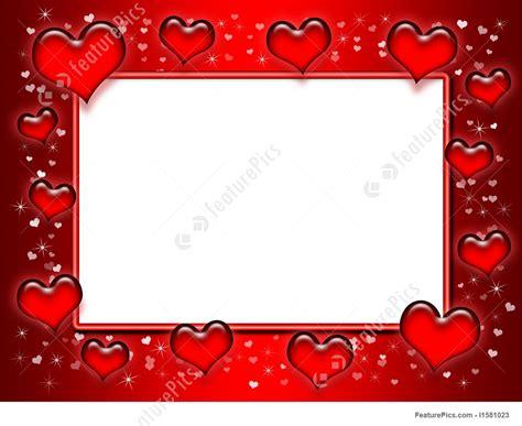 illustration  heart frame