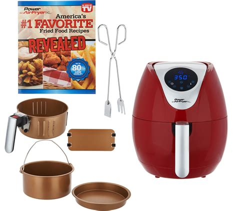 air fryer xl power qvc qt digital fryers kitchen trending today