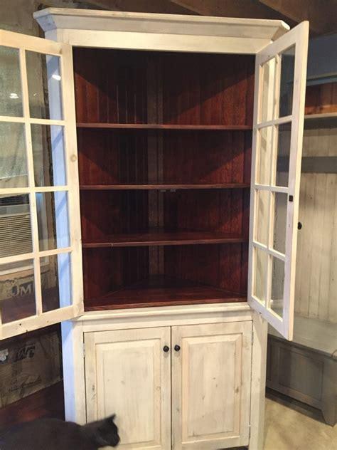 standard double door corner cabinet furniture   barn