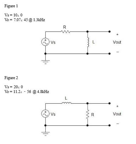 Solved High Pass Filter For The Circuit Figure