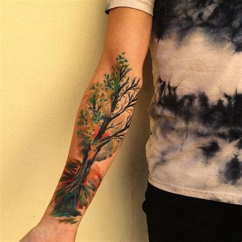 forearm tree tattoo designs ideas  meaning tattoos