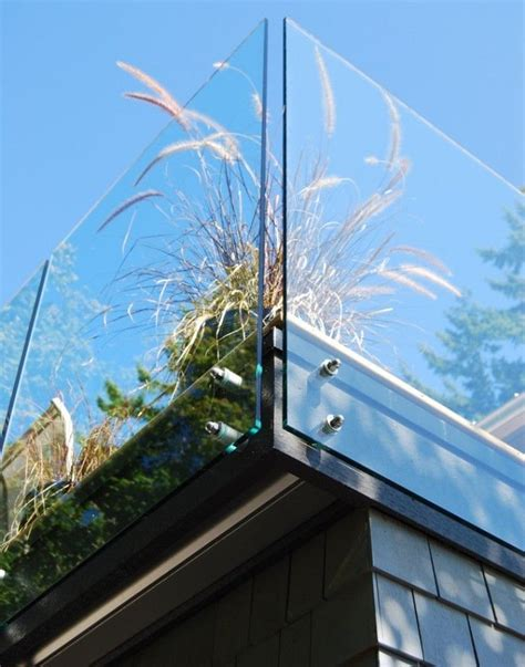 Glas Rahmenlos by Balkongel 228 Nder Ideen Glas Rahmenlos Detail Ziergraser Deko