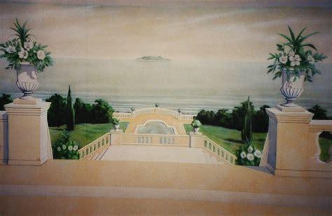trompe l oeil landscape mural by linkerart on deviantart