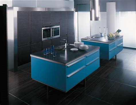 cuisine turquoise et gris la cuisine bleue inspiration cuisine