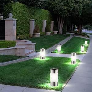 Led Lampen Garten : 6 er set led solar lampen edelstahl au en garten weg beleuchtung steck leuchten ebay ~ A.2002-acura-tl-radio.info Haus und Dekorationen