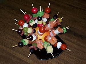 Idée Brochette Apéro : petites brochettes color es pour l 39 ap ritif recette de ~ Melissatoandfro.com Idées de Décoration