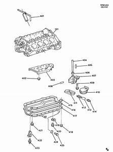 1999 Chevrolet Suburban Base Gasket  Engine Oil Pan