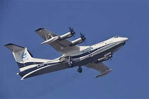 World's largest amphibious aircraft, the AG600, makes ...