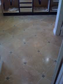 these diagonal bathroom floor tiles small tile accent pieces in the corners