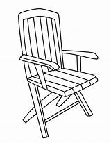 Chair Coloring Pages Furniture Designlooter 91kb 792px sketch template