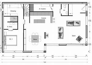 cuisine plan de maison architecture faire plan de maison With faire des plan de maison en 3d