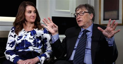 Bill Gates and his wife - TVTS