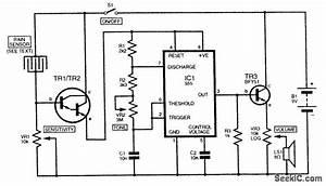 rain sensor sensor circuit circuit diagram seekiccom With rain sensor circuit