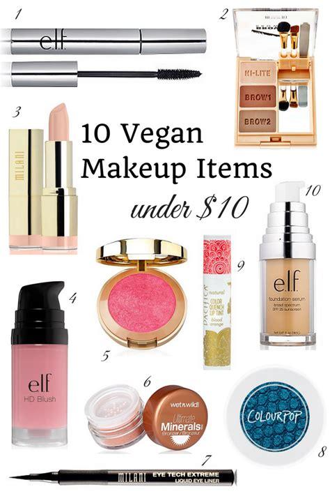 vegan makeup items vegan beauty review