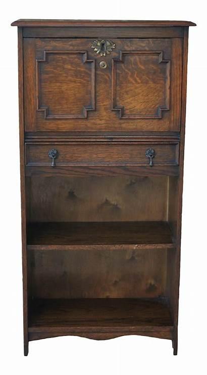 Secretary Desk Antique Oak Larkin Fall Bookcase