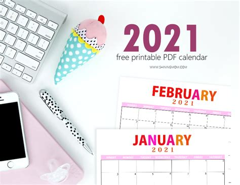 You can choose to print a calendar with. FREE 2021 Printable Calendar PDF to Download Today!