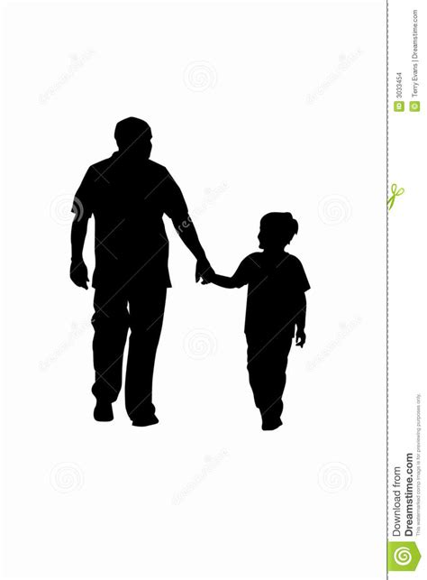 Father and Son stock vector. Illustration of child