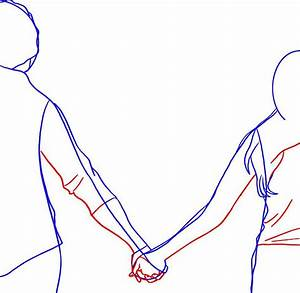 Drawings Of People Holding Hands - ClipArt Best
