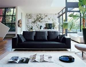 Deco salon scandinave en 75 idees pour interieur moderne for Canapé convertible scandinave pour noël interieur salon moderne