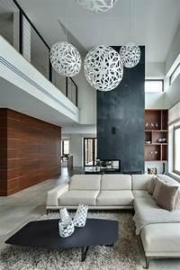 1001 idees pour un salon moderne de luxe comment rendre for Tapis de gym avec creme renovatrice canape cuir