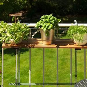 Balkon Hngeregal Bambusholz Balkonerlebnisde
