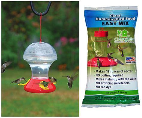 hummingbird feeder mix bird feeders