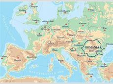 Maps Map Of Europe Romania