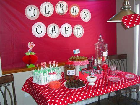 strawberry shortcake birthday party ideas photo