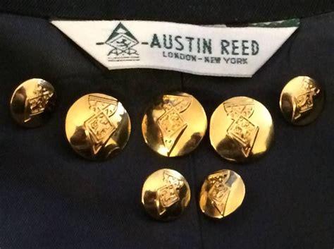 austin reed replacement blazer suit jacket coat gold metal