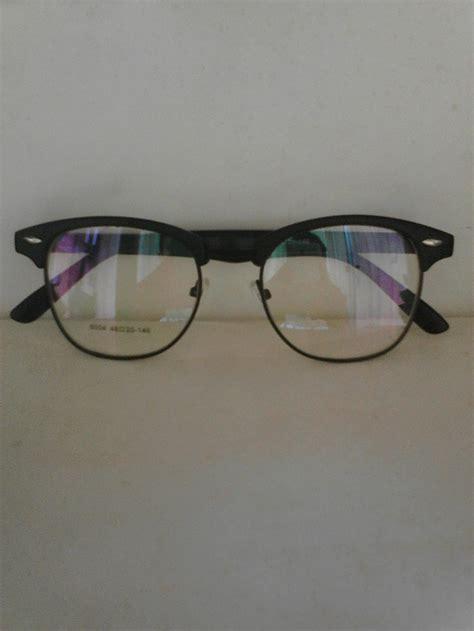 jual kacamata club master frame bulat kaca mata free lensa anti radiasi atiradiasi ukuran